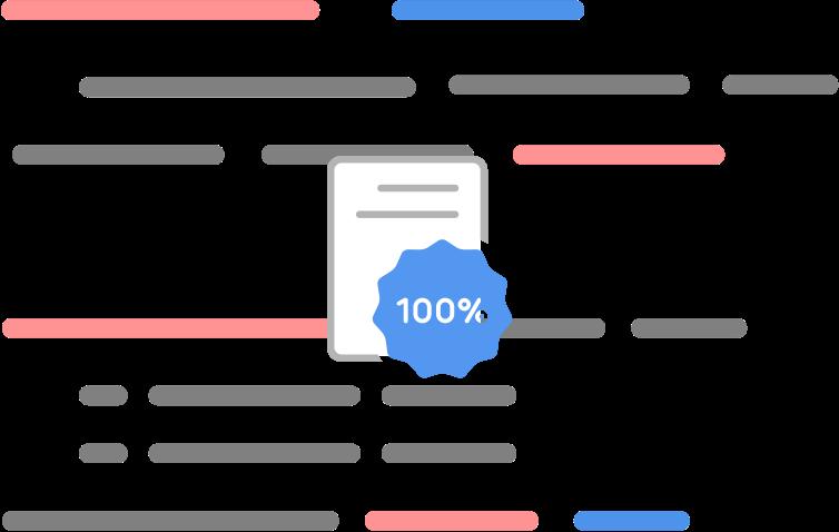 certificate over example code