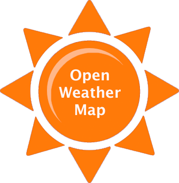 OpenWeatherMap is an online service that provides weather data, including current weather data, forecasts, and historical data to the developers of web services and mobile applications