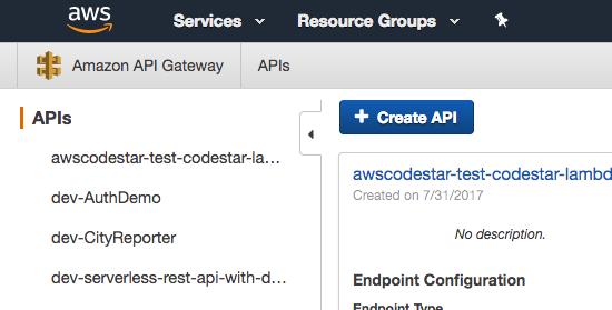 Create API